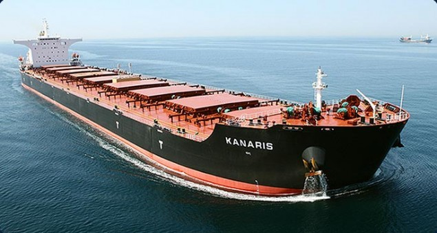 Large shipping vessel, used to the Baltic Dry Index calculation